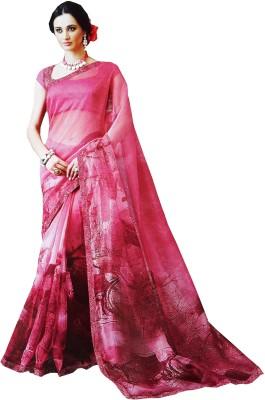 LolyDoll Printed Bollywood Silk Cotton Blend Sari