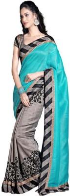 Krishna Ki Leela Solid Fashion Art Silk Sari