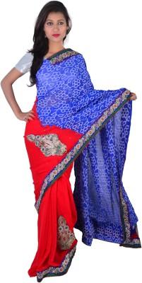 Ak designs Solid Fashion Handloom Cotton Sari