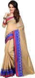 LEEWODEAL Printed Fashion Cotton Saree (...