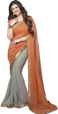Divazz Printed Bollywood Pure Georgette Sari