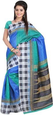 Vakiya Saree Printed Bhagalpuri Silk Sari available at Flipkart for Rs.349