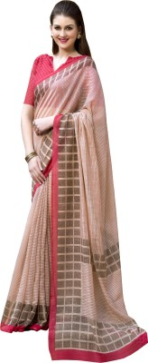 Varnilifestyle Printed Fashion Cotton Sari