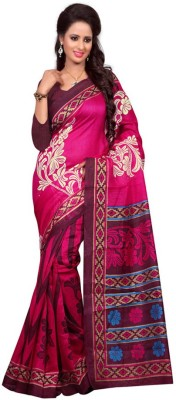 Geny And Geny Printed Fashion Handloom Cotton Sari