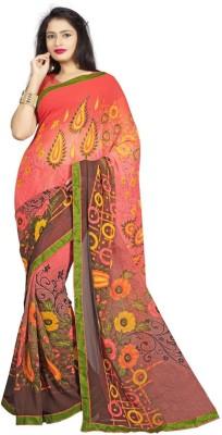Anu Creation Self Design Fashion Chiffon Sari