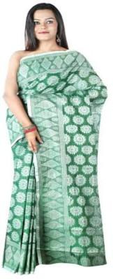 Rupashi Self Design Jamdani Handloom Cotton Sari