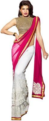Divy Embriodered Fashion Georgette Sari