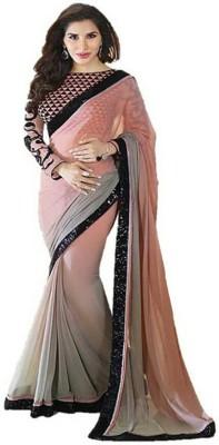 Meera Saree Self Design Bollywood Georgette Sari