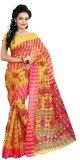 Needle Impression Printed Assam Silk Han...