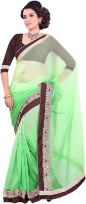 Suchi Fashion Embriodered Fashion Linen Sari