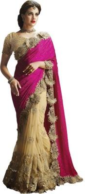 Ethnic Bazaar Embriodered Patola Satin Sari