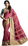 Vipul Printed Fashion Silk Saree (Yellow...