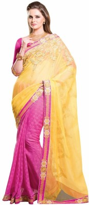 RG DESIGNERS Embriodered Fashion Cotton Sari