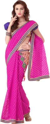 Hypnotex Self Design Fashion Jacquard Sari