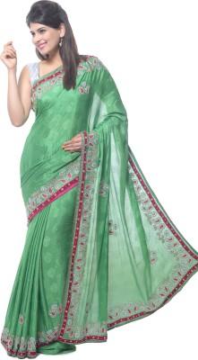 Aarti Saree Embriodered Fashion Crepe Sari