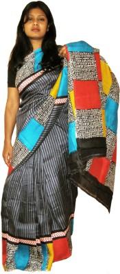 MURSHIDABAD SILK SAREE Printed Murshidabad Pure Silk Sari