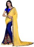 Digitalmella Self Design Bollywood Chiff...