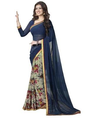 Pahel Self Design Bollywood Georgette Sari