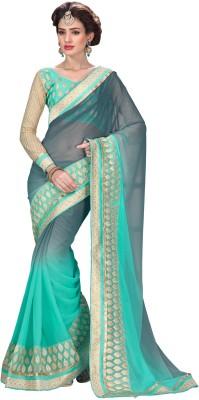 Suresh Embriodered Banarasi Lace Sari