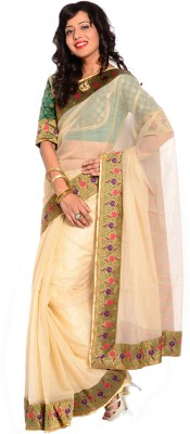 Velli Self Design Bollywood Net Sari