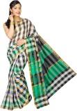 Pavechas Checkered Banarasi Cotton, Silk...