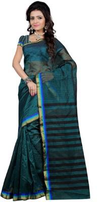 SareeShop Plain Chanderi Cotton Sari