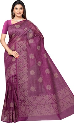 Aagamanfashion Printed Fashion Cotton Sari