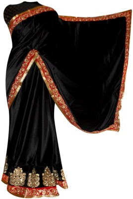 Vogue4all Embriodered Bollywood Net Sari