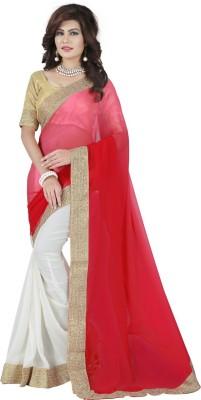 vtfashion Self Design Daily Wear Georgette Sari