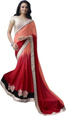 Sumana Embriodered Bollywood Handloom Georgette Sari