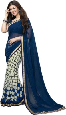 Shiroya Brothers Embriodered Bollywood Pure Georgette Sari