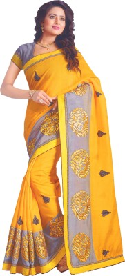 Lata Embriodered Bollywood Cotton Sari