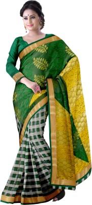 Komal Sarees Woven, Self Design Chanderi Chanderi, Net Sari