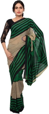 Chandans Printed Daily Wear Synthetic Sari