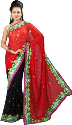 Anushree Saree Self Design Fashion Chanderi Sari