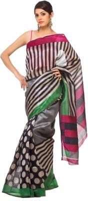 365 Labels Polka Print Fashion Silk Sari