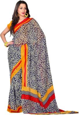 Krutika Printed Fashion Georgette Sari
