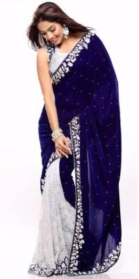 Texclusive Self Design Fashion Brasso Sari