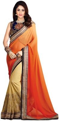Style U Embriodered Bollywood Chiffon Sari