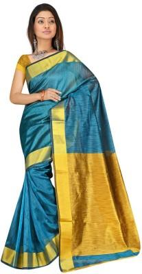 Salwar Studio Plain Daily Wear Polyester Sari