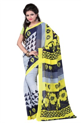 Gazbiyya Printed Fashion Georgette Sari