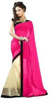 Ethnic Era Self Design Bollywood Net Sari