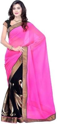 Muun Self Design Fashion Georgette Sari