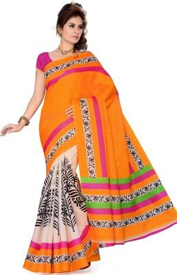 Mahesh Traders Printed Fashion Art Silk Sari