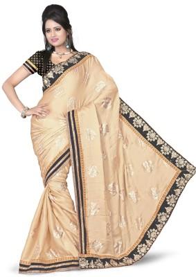 Aanchal Fashion Self Design Fashion Viscose Sari