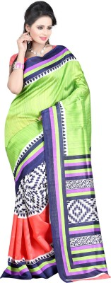 Aarnas Fashion Printed Bollywood Art Silk Sari