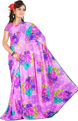Janya Self Design Arani Pattu Georgette Sari