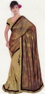 Mahesh Traders Embriodered Bollywood Jacquard Sari
