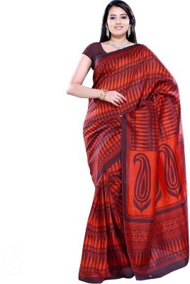 Aapno Rajasthan Printed Fashion Silk Sari