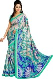 Peecaso Printed Bollywood Art Silk Saree...